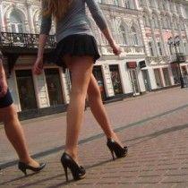 Девушки в минем юбке фото