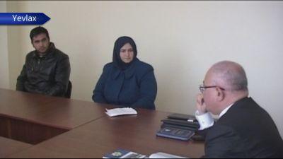 Dövlət Gömrük Komitəsinin sədri Yevlaxda vətəndaşları qəbul edib