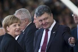 Merkel in Ukraine