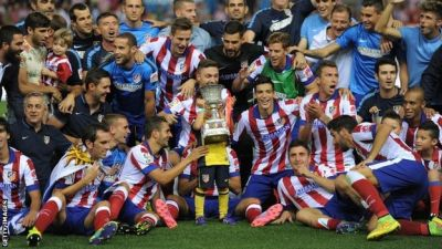 Atletico Madrid win Spanish Super Cup