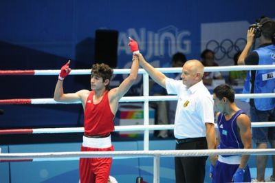 Azerbaijani boxer reaches final