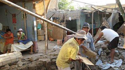 Magnitude 6.9 earthquake hits Peru