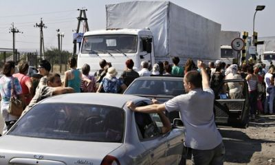 Russia to send second aid convoy to eastern Ukraine