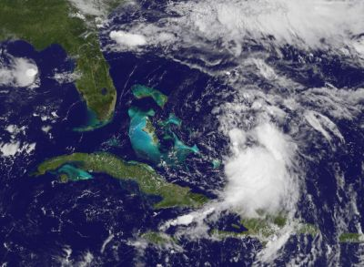 Cristobal storm moves away from Bahamas