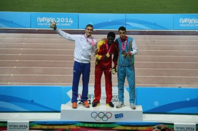 Azerbaijani athlete won triple jump bronze at Nanjing Olympics