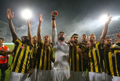 2014 Turkish Super Cup winners- Fenerbahce