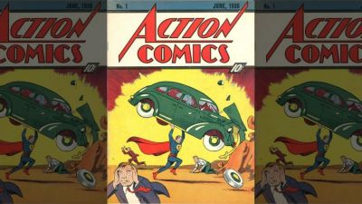 First Superman comic book fetches $3.2M at auction