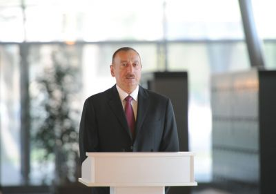 President Ilham Aliyev: We by all means defend and will defend our independence
