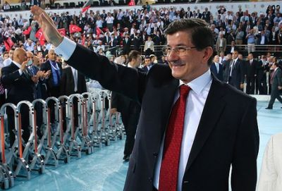 Davutoglu elected leader of Turkey's ruling AKP party