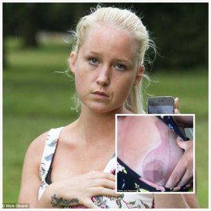 Woman claims charging iPhone 4 burned her breast