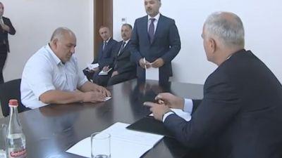 Şahin Mustafayev Qusarda vətəndaşlarla görüşüb