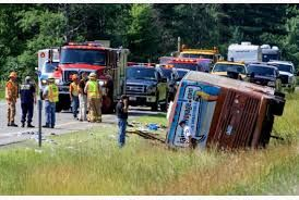 Canada bus crash leaves 56 injured