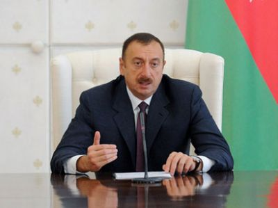 President Ilham Aliyev received athletes participated  in the 2nd Summer Youth Olympic Games in Nanjing