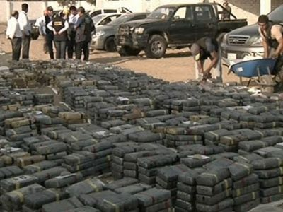 8.5 M tons of cocaine seized in raid