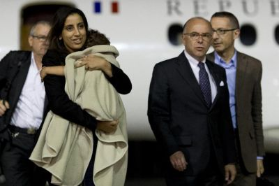French mum reunited with daughter taken by alleged jihadi father