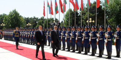 Official welcoming ceremony held for Turkish President