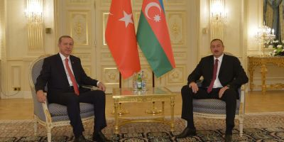 President Ilham Aliyev held a one-on-one meeting with Turkish President