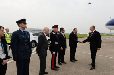 President Ilham Aliyev is on a working visit to the United Kingdom