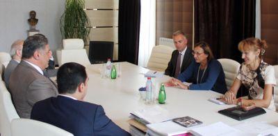 Azad Rahimov met Deputy Secretary General of the  CoE