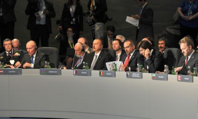 President Ilham Aliyev addressed the NATO summit