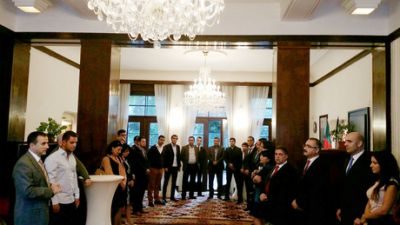 Azerbaijani ambassador meets representatives of diaspora in Czech Republic
