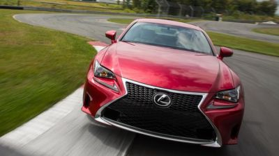 Lexus RC, a special envoy to Bavaria PHOTO