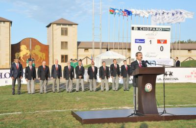 2nd Polo World Cup contests kick off in Baku
