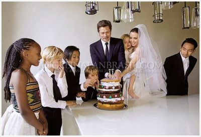 New photos from Jolie and Pitt's wedding  PHOTO