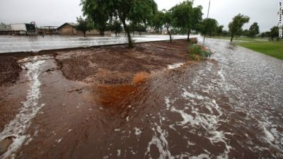 Flash floods slam Arizona, Nevada PHOTO