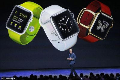 Apple reveals smart watch