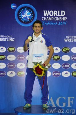 Azerbaijani wrestler claims world crown