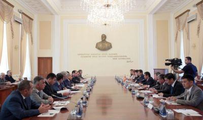 Azerbaijani-Kyrgyz Intergovernmental Commission's regular meeting held