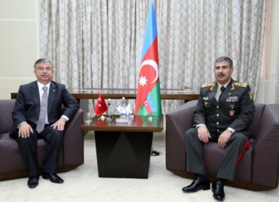 Zakir Hasanov met with Ismet Yildiz