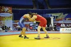 Azerbaijani female wrestlers win two world medals