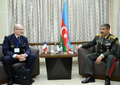Azerbaijan, France discuss military issues