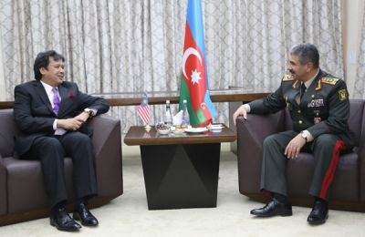 Azerbaijan, Malaysia discuss prospects for defence cooperation