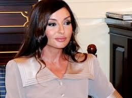 The First Lady Mehriban Aliyeva meets spouse of Malaysian PM