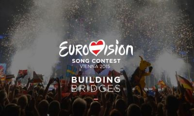"A new slogan of Eurovision 2015-  ""Building Bridges"""