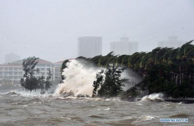Typhoon Kalmaegi lands in South China