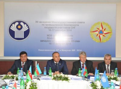 Nakhchivan hosts 12th meeting of CIS Interstate Council on Industrial Safety