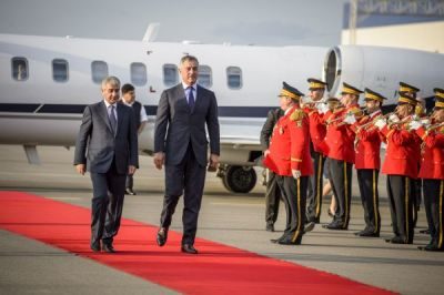 Montenegrian PM in Baku for an official viist