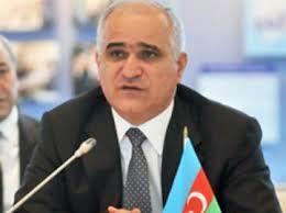 Azerbaijani  Minister met Iranian minister
