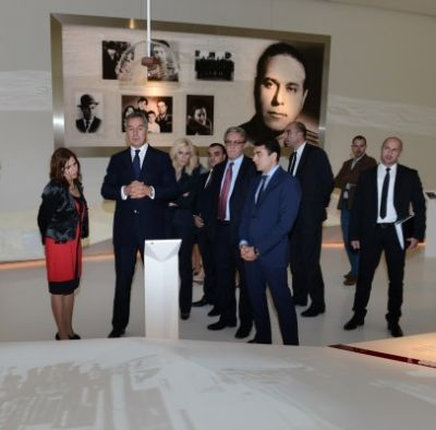 Montenegrian PM visited Heydar Aliyev Center