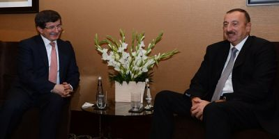 President Ilham Aliyev and Turkish PM make statements for the press