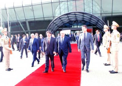 Turkish PM's visit to Azerbaijan ends