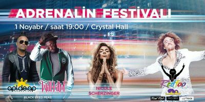 Adrenaline festival at Baku Crystal Hall