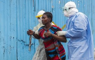 Major Ebola treatment center opens in Liberia