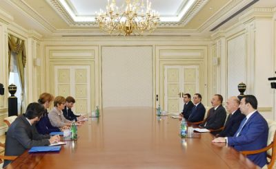 President Ilham Aliyev received President of the PACE