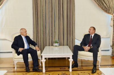 President Ilham Aliyev received the director general of Rossiya Segodnya