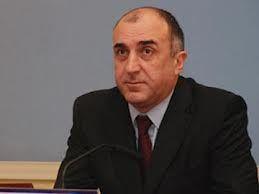 Azerbaijni FM meets his Argentinean counterpart